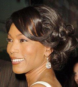 Saint-Valentin - Idées coiffures Cheveux afro dans La St Valentin princesse-ebene-chignon-chic5-270x300