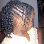 Tresses pour petites filles cheveux afro dans coiffure enfant nattes2